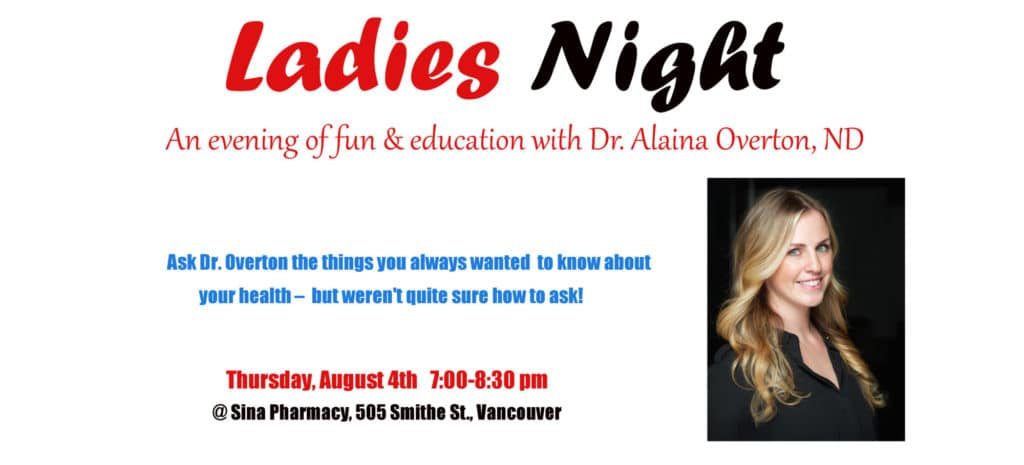 Sina Ladies Night Event with Dr. Everton