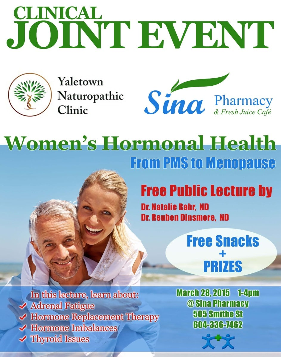 Joint Event-Sina & YaletownNaturopathic3