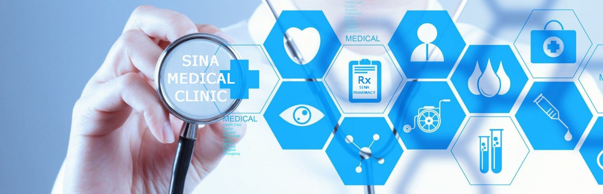 Sina Medical Clinic Header